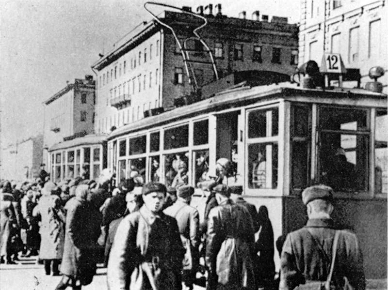 First_tram_1942