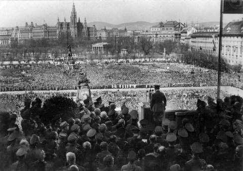 Wien, Heldenplatz, Rede Adolf Hitler